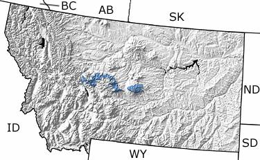 Carboniferous In Montana Map